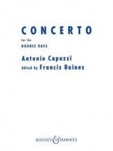 Capuzzi Antonio - Concerto For The Double Bass - Contrebasse & Piano