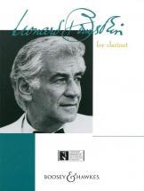 Bernstein Leonard - Bernstein For Clarinet - Clarinet And Piano