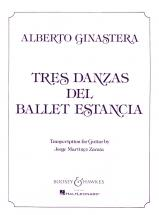 Ginastera Alberto - 3 Dances Op. 8 - 2 Guitares
