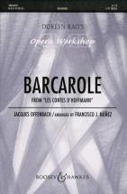 Offenbach Jacques - Barcarole From The Tales Of Hoffmann - 2-part Treble Voices  And Piano