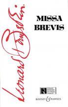 Bernstein Leonard - Missa Brevis - Mixed Choir A Cappella, Countertenor And Percussion