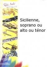 Bigot P. - Sicilienne, Soprano Ou Alto Ou Tnor