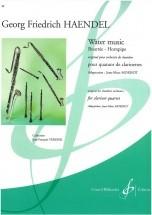 Haendel G.f. - Water Music - Quatuor Clarinettes