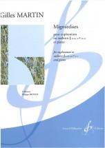 Martin Gilles - Mignardises - Euphonium Ou Saxhorn En Si B Ou En Ut Et Piano