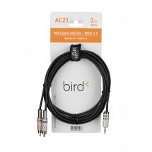 Eagletone Ac21 - Mini Jack Stereo / 2 Rca Male - 3m
