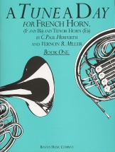 Herfurth Paul C. - A Tune A Day For The French Horn - Book 1 - Horn