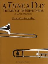 Herfurth C. Paul - A Tune A Day Trombone, Euphonium, Treble Clef - Book 1 - Bk. 1 - Euphonium
