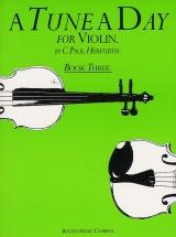 A Tune A Day For Violin Book Three - Violin