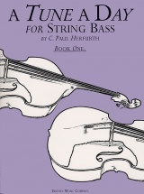 A Tune A Day For String Bass Book One Db - Double Bass