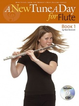 Bennett Ned - A New Tune A Day - Book 1 - Flute