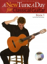Michael Mccartney - A New Tune A Day Classical Guitar Book 1 + Cd - Classical Guitar