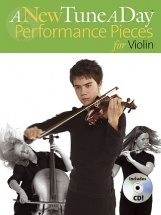 A New Tune A Day Performance Pieces + Cd - Violin