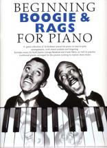 Beginning Boogie & Rags For Piano