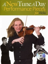 A New Tune A Day Performance Pieces + Cd - Viola