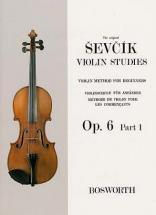 Sevcik - Violin Studies Op. 6 Part 1 - Violon