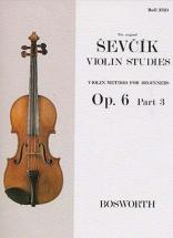 Sevcik - Etudes Op.6 Part 3 - Violon
