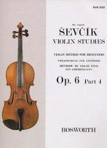 Sevcik  - Violin Studies Op.6 Part.4