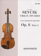 Sevcik - Etudes Op.6 Part 5 - Violon
