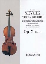 Sevcik - Etudes Op.7 Part 1 - Violon