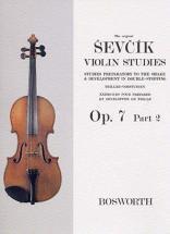 Sevcik - Violin Studies - Op.7 Part.2 - Exercices Sur Les Trilles