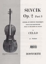 Sevcik Cello Op.2 Part.3 Ecole De L