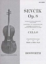 Sevcik - Etudes Op.8 Changement De Position - Violoncelle