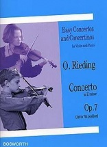 Rieding Oscar - Concerto Op.7 E-moll - Violon and Piano