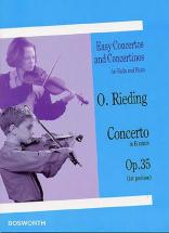 Rieding O. - Concerto In B Minor Op.35 - Violon, Piano