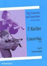 Kuchler - Concertino Op.12 En Re Majeur