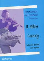 Millies H. - Concerto In D - Violon Et Piano