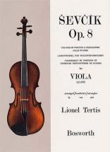 Sevcik - Etudes Op.8 Changement De Position - Alto