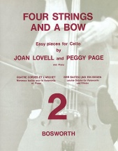Joan Lovell/peggy Page - Four Strings And A Bow Book 2 - Cello