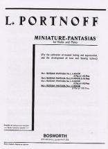 Portnoff - Fantaisie Russe N°4 - Violon,piano