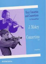Mokry Jiri - Concertino In G - Violon / Piano