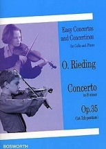 Rieding O. - Concerto In B Minor Opus 35 - Violoncelle Et Piano