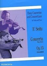 Seitz - Concerto N°2 In G Op.13 - Violon Et Piano