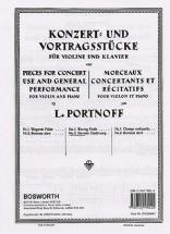 Portnoff L. - Berceuse Slave - Violon & Piano
