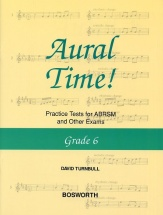 David Turnbull Aural Time! Practice Tests Grade 6 - Voice