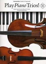 PIANO Piano Trio: piano, violon, violoncelle : Livres de partitions de musique