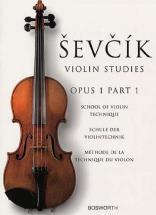 Sevcik - Etudes Op.1 Part 1 - Violon