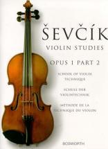 Sevcik - Etudes Op.1 Part 2 - Violon