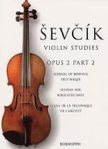 Sevcik - Violin Studies - Op.2 Part.2 - Ecole Technique De L