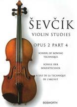 Sevcik - Etudes Op.2 Part 4 Technique De L