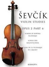 Sevcik - Etudes Op.2 Part 6 Technique De L