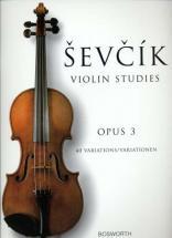 Sevcik - Etudes Op.3 40 Variations - Violon