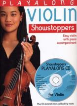 Playalong Showstoppers Violin + Cd - Violon