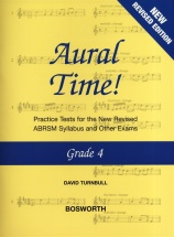 David Turnbull - Aural Time Grade 4 New Edition - Voice
