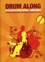 Drum Along 10 Classic Rock Songs + Cd