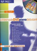 Trop Facile Méthode Piano Débutant + Dvd - Boell éric