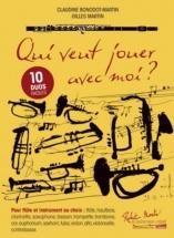 Bonodot-martin Claudine - Qui Veut Jouer Avec Moi? - Duos Flute and Autre Instrument